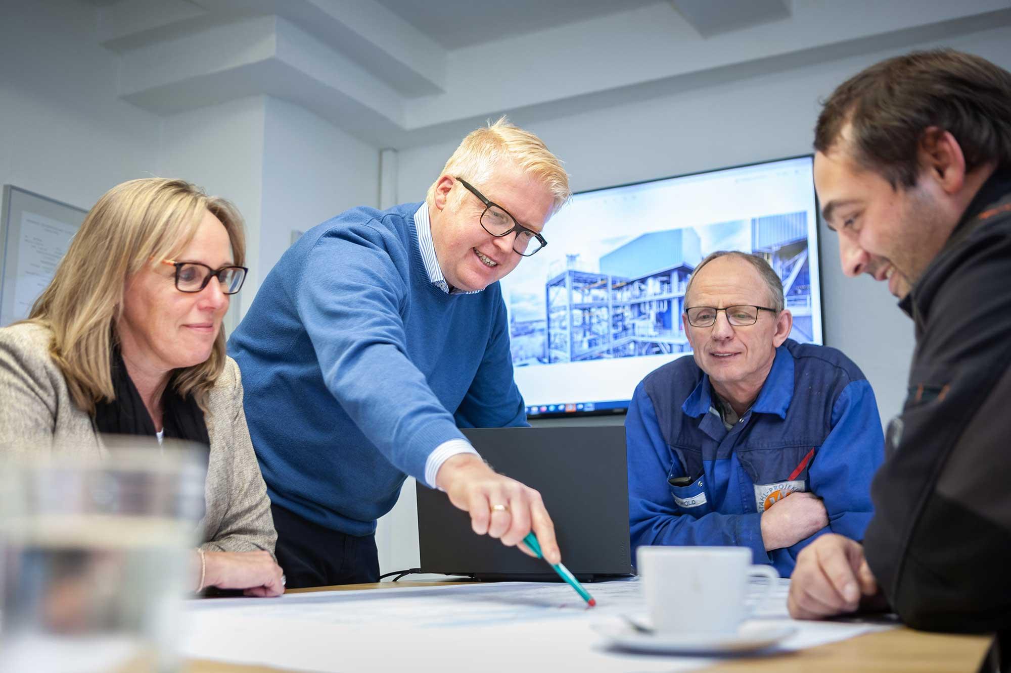 Wentz Stahl-Projektbau Ansprechpartner